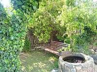 zahrada - chalupa ubytování Police u Jemnice