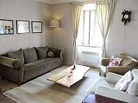 obývací pokoj - chalupa ubytování Police u Jemnice