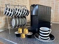 K dispozici je také kávovar s kapslemi - rekreační dům k pronajmutí Nové Město na Moravě