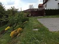 Zahrada - chalupa k pronajmutí Kamenice nad Lipou