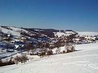 Zimní pohled na Velké Janovice
