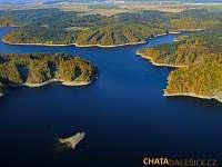 Dalešická přehrada - Kramolín