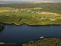 Dalešická přehrada - chata k pronájmu Kramolín