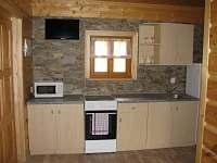 Kuchyňská linka - chata k pronájmu Kramolín