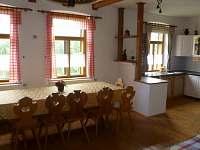 kuchyň - chalupa ubytování Dlouhé
