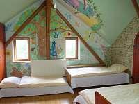 ložnice 3 - chalupa k pronájmu Dlouhé