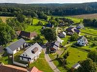 vesnička Karlov - chalupa k pronajmutí