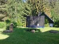 Zahrada trampolína