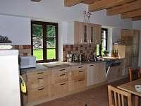 Kuchyně - ubytování Lidmaň