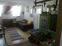 Apartman pro 5 osob -kuchyně - chalupa k pronajmutí Krátká