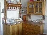 Apartman pro 5 osob -kuchyně - chalupa ubytování Krátká