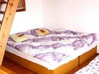 Pokoj v prvním patře - 2 lůžka - chata k pronájmu Urbanov
