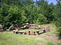 Ohniště - chata k pronájmu Kramolín