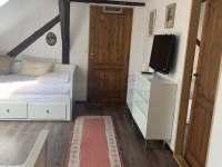 ložnice 3 - chalupa k pronájmu Staré Bříště - Vlčí Hory