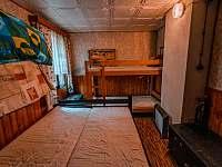 Ložnice 4 - chata k pronájmu Broumova Lhota
