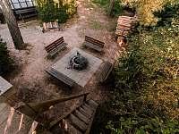Ohniště 1 - pronájem chaty Broumova Lhota