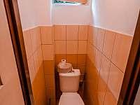 WC - pronájem chaty Broumova Lhota