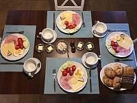 kontinentální snídaně - Jimramovské Paseky