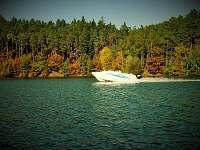 Jízda na vodních lyžích - Kramolín