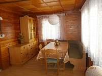 Jídelna - chata ubytování Opatov