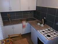 Kuchyň - chata k pronájmu Opatov