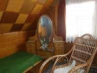 ložnice - chata ubytování Opatov