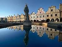 Telč - 15 km: UNESCO, zámek, náměstí, restaurace, aktivity
