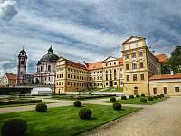 Zámek Jaroměřice - 20 minut: zámek a zahrady