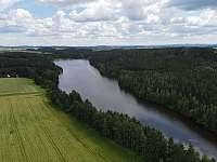 Domanínský rybník - pronájem chaty Bohuňov