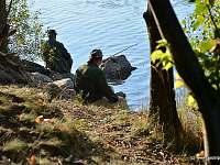 rybaření pod chatou