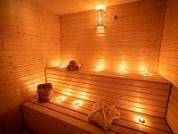 finská sauna - vila k pronajmutí Štoky