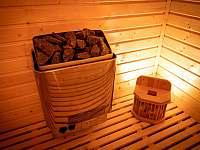 finská sauna - pronájem vily Štoky