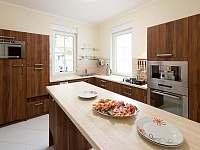 Horní kuchyně - vila ubytování Štoky