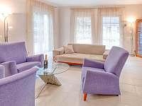 Obývací pokoj - vila ubytování Štoky