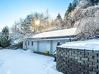 Vila Karolína v zimě - pronájem Štoky