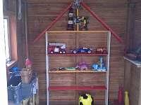 dětský domeček - chata k pronájmu Zdislavice