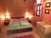 ložnice 1 - chata k pronajmutí Zdislavice