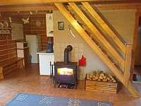 obývací pokoj - chata k pronájmu Zdislavice