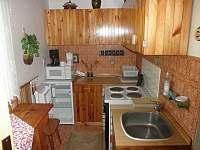 Kuchyň - chata k pronájmu Škrdlovice - Velké Dářko