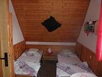 Ložnice - pronájem chaty Škrdlovice - Velké Dářko