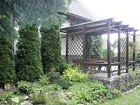 Venkovní terasa - chata ubytování Škrdlovice - Velké Dářko