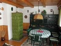 Vnitřní posezení - chata k pronajmutí Škrdlovice - Velké Dářko