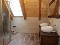 Sprchový kout v podkroví - Cejle - Hutě
