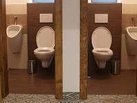 Toalety v přízemí - pronájem chalupy Cejle - Hutě