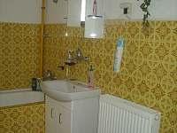 koupelna - pronájem chalupy Svratouch
