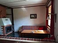 Obývací pokoj - chata ubytování Vaneč
