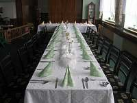 Úprava stolu