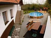 bazén - chalupa k pronajmutí Veselý Kopec