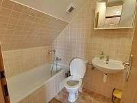 koupelna pokoje č. 2 - pronájem chalupy Veselý Kopec