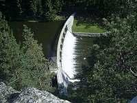 Malá přehrada/hráz